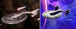 Two Star Trek Online Ships From Hero Collector