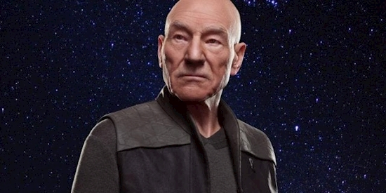 Watch Star Trek: Picard's Patrick Stewart Ask Alexa Who's the Best Captain