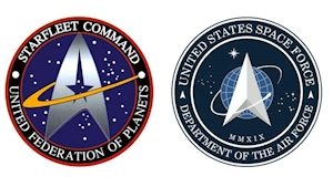 Donald Trump's US Space Force logo is spookily similar to Starfleet Command's