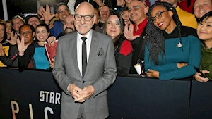 'Star Trek: Picard' world premiere draws huge crowds and sci-fi stars