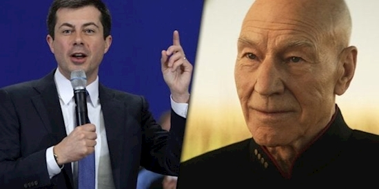 Democratic Presidential Candidate Pete Buttigieg Reveals His Guilty Pleasure Is Watching Star Trek: Picard
