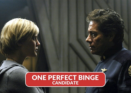 'Battlestar Galactica' is a Bingeable Feast Eager to Bust Your Gut
