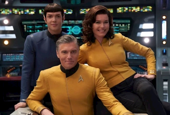 Star Trek: Strange New Worlds Ordered to Series for CBS All Access