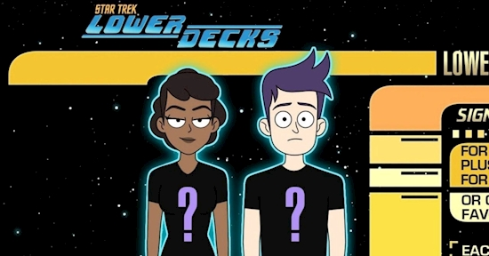 Star Trek: Lower Decks Gets Its Own T-Shirt Club