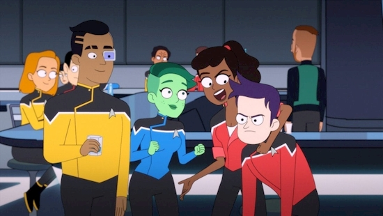 Star Trek: Lower Decks Review: Animated Comedy Finds the Fun in Starfleet