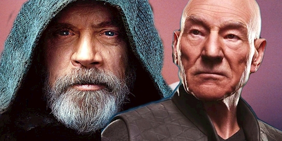 Patrick Stewart Wants A Star Wars & Star Trek Crossover Movie